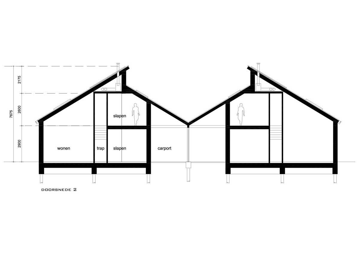 20-17-DO2-bungalows-doorsnede-2